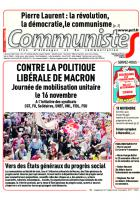 Journal CommunisteS n°700 7 novembre 2017