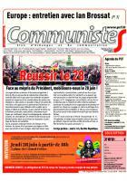 Journal CommunisteS n°730