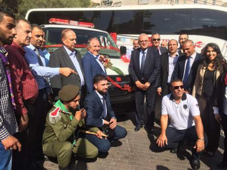 Une ambulance pour Aïzaria, et dire que certains ont voulu l'empêcher …
