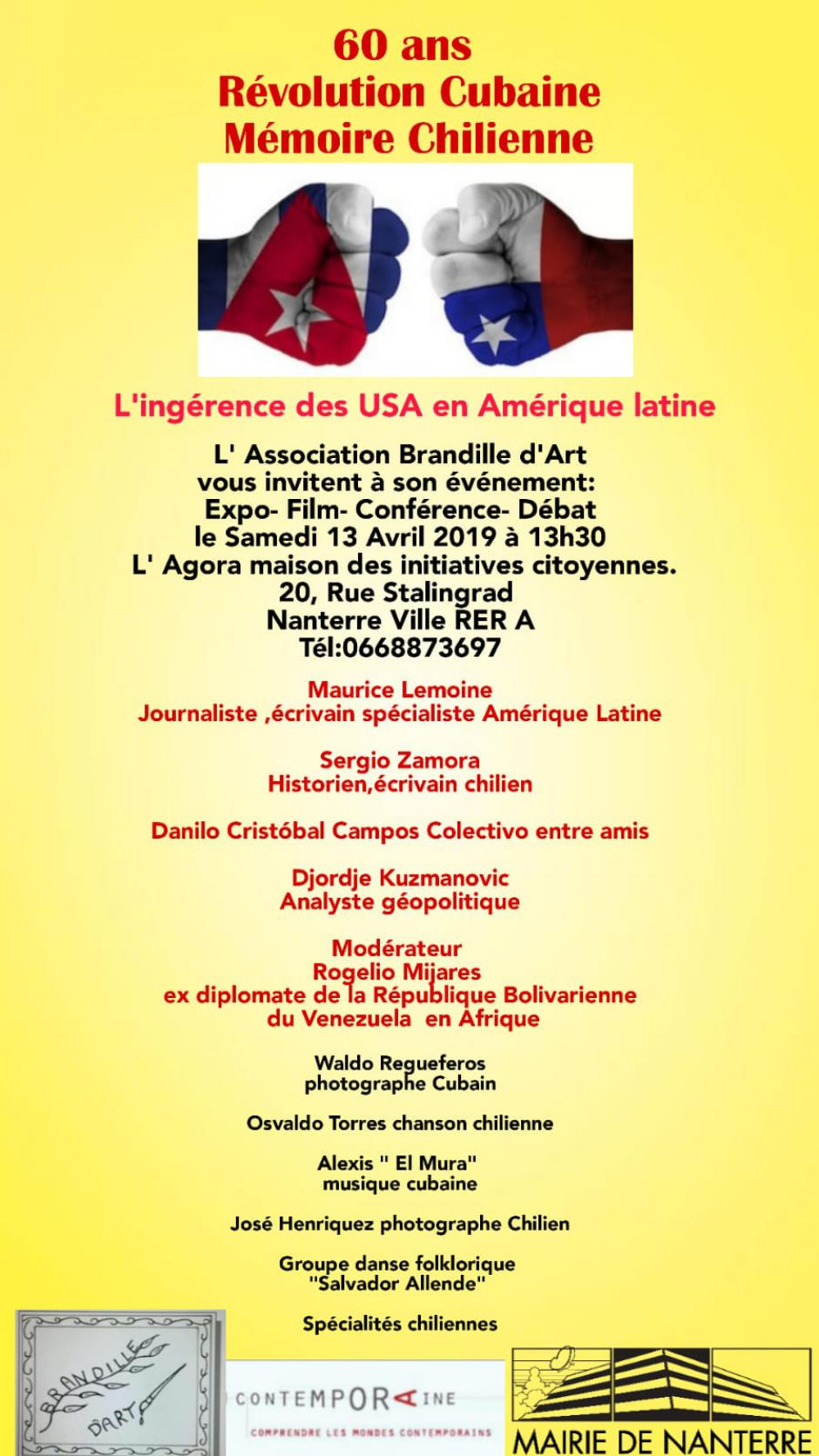 L'ingérence des USA en Amérique latine