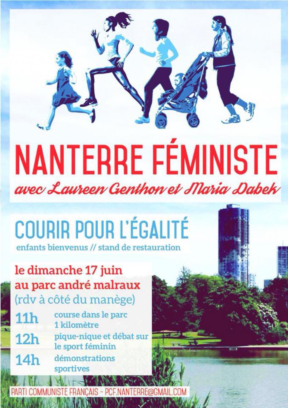 Dimanche 17 juin, Nanterre féministe