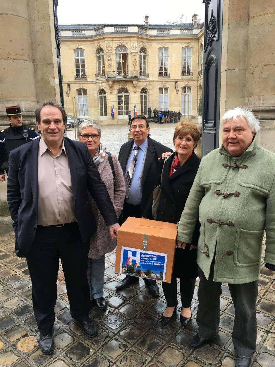 Votation pour la défense de l'hôpital de Nanterre : bravo